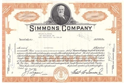 Simmons Company  (Matress)