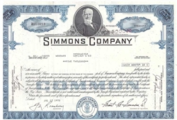 Simmons Company  (Matress) Blue
