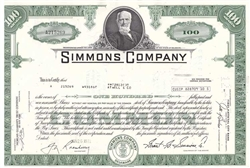 Simmons Company  (Matress) Green