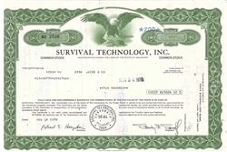 Survival Technology, Inc. - Green