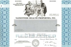 Nationwide Health Properties, Inc. Specimen Stock Certificate