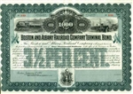 Boston And Albany Railroad Company Terminal Bond - 1901