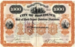 State of Rhode Island and Providence Plantations Bond - 1923