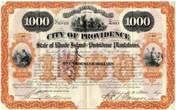 State of Rhode Island and Providence Plantations Bond - 1893