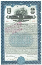 International Match Corp Gold Bond - 1931