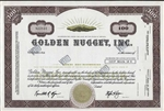 Golden Nugget, Inc Stock Certificate