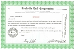 Leadville Lead Corporation Specimen Stock Certificate