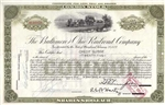 The Baltimore and Ohio (B&O) Railroad Company Stock Certificate