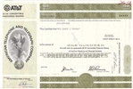 AT&T Stock Certificate - American Telephone and Telegraph