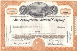 The Pennsylvania Railroad Company - Orange