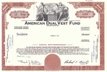 American DualVest Fund Preferred Stock
