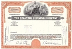The Atlantic Refining Company Stock Certificate - Orange