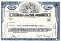 International Telephone and Telegraph Corp. Stock