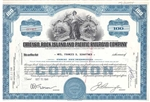 The Chicago, Rock Island and Pacific Railroad Company Stock Certificate