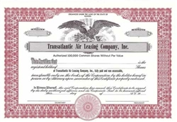 Transatlantic Air Leasing Company, Inc. Stock