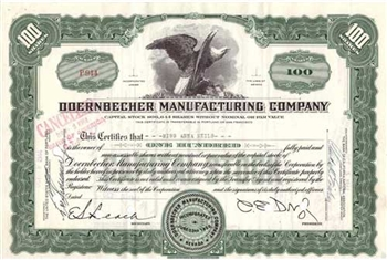 Doernbecher Manufacturing Company Stock