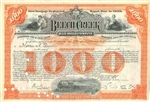 Beech Creek Railroad Company Bond