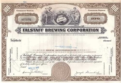 Falstaff Brewing Corporation Stock Certificate
