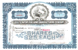 Colt's Patent Fire Arms Manufacturing Company - Blue