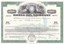 Shell Oil Company Bond - Green