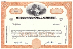 The Standard Oil Company Specimen Stock Certificate