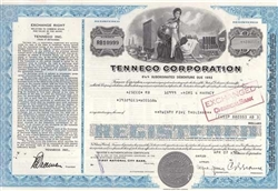 Tenneco Corp. Bond Certificate