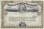 Boston and Albany Rail Road Company  Stock Certificate