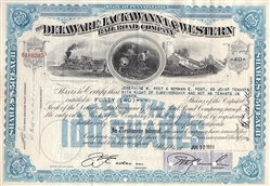 The Delaware, Lackawanna & Western Rail Road Company - Blue