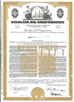 Sinclair Oil Corp Bond Certificate