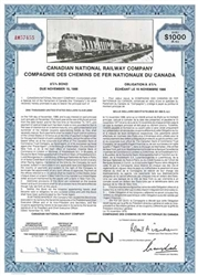 Canadian National Railway Co Bond