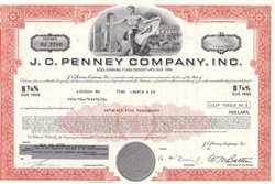 J.C. Penney Corporation Bond Certificate