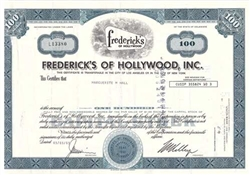 Frederick's of Hollywood, Inc. Stock - Blue