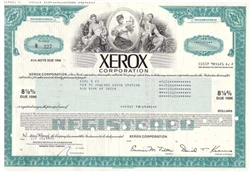 Xerox Corporation  Bond - Aqua