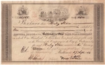 1856 Baltimore and Ohio (B&O) Railroad Co. Stock - Pre Civil War