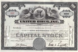 United Drug Inc. Stock Certificate