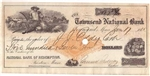 1836 Republic of Texas $60 Note from the Treasurer