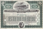 International Mercantile Marine Stock Certificate
