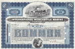 International Mercantile Marine Stock Certificate - 1920s