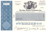 The Bear Stearns Company Inc. Bond Certificate - Specimen