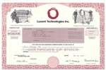 Lucent Technologies Inc. Stock Certificate