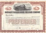Buffalo and Susquehanna Railroad Co Stock Certificate
