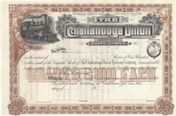 Chattanooga Union Railway Co Stock Certificate