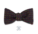 Stock Ticker Bow Tie