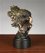 "5"" Elegant Eagle Head Figurine - Statue"