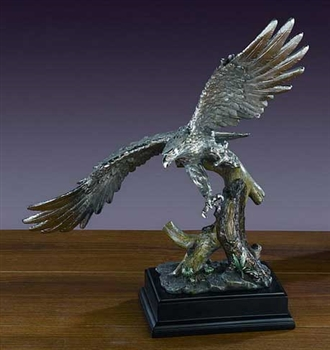 "16"" Flying Eagle Figurine - Sculpture"