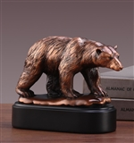 Polar Bear Statue - Bronzed Sculpture