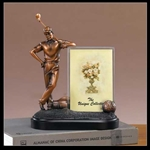 Bronzed Golf Picture Frame