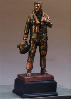 U.S. Air Force Statue - Bronzed Figurine