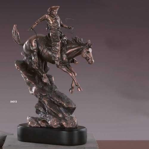 Western Cowboy Statue