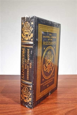 The Inaugural Addresses of the Presidents - Easton Press - Leather bound